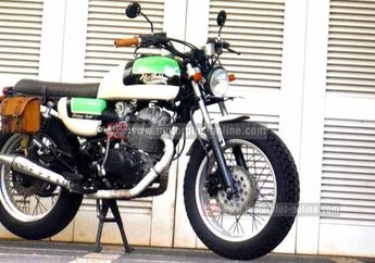 Modifikasi Honda Tiger Jadi Bonneville