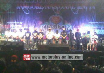 Rapatkan Barisan Jambore Nasional Kawasaki Ninja Indonesia Ke-9
