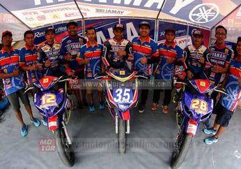 Yamaha Yamalube Wins Kedaton KYB FDR UpMild Turun Di MotorPrix Regin Jawa