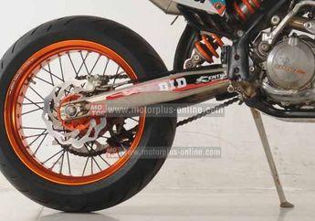 KTM 500 EXC-F Pakai Pelek Lebar 5 Inchi