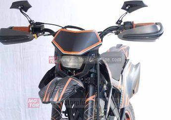 Modifikasi Bodi Kawasaki KLX 150 Supermoto