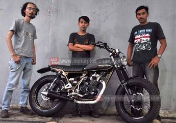 Modifikasi Kawasaki KLX 150 Model Japs Style