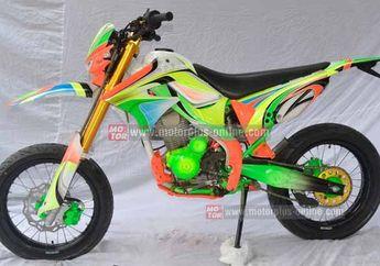 Modifikasi Kawasaki KLX 150 Supermoto