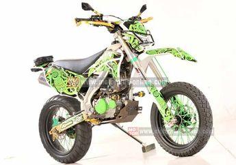 Modifikasi Kawasaki KLX 150 Body KX