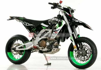 Modifikasi Kawasaki KLX 250 SuperMoto