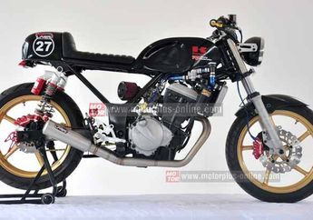 Modifikasi Kawasaki Ninja 250R Cafe Racer Display