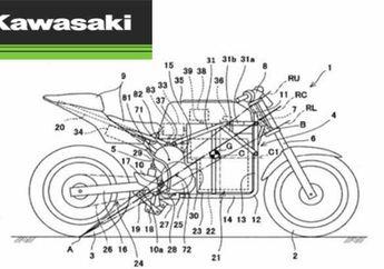 Kawasaki Siapkan Motor Superbike Listrik