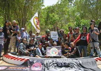 Kandara Vespa Club Turing Menuju 0 KM Timur Indonesia