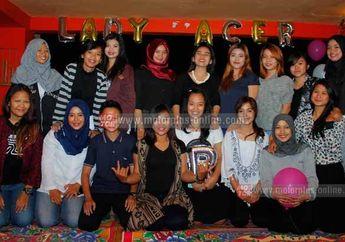 Lady Racer, Ajang Silaturahmi Sekaligus Jumpa Fans