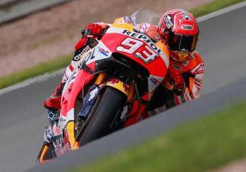 Hasil Lomba MotoGP Jerman, Marc Marquez Menang Dengan Ban Slick