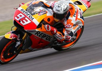 Latihan Resmi Keempat MotoGP Argentina, Marc Marquez Fastest Lap Jelang Gerimis