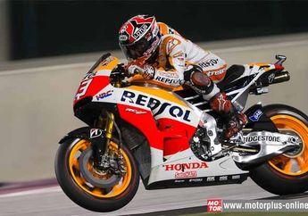 Marc Marquez Ungguli Duel Seru Dengan Valentino Rossi di MotoGP Qatar