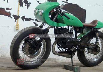 Modifikasi Yamaha RX King Kejar Tayang Motor Legenda