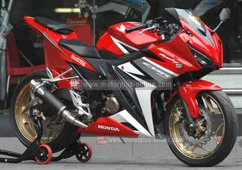Modifikasi All New Honda CBR150R Tiru Winglet CBR1000