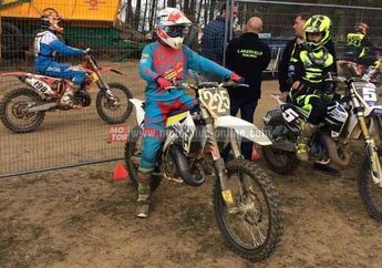 Pembalap Motocross Indonesia, Delvintor, Peringkat 6 di Motocross Eropa