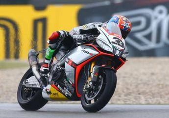 Race 2 Superbike Prancis: Tak Mau Mengalah, Melandri Sabet Kemenangan
