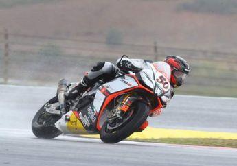 Race 1 Superbike Prancis: Guintoli Menang Dengan Bantuan Melandri