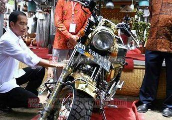 Presiden Jokowi Tertarik Motor Modifikasi