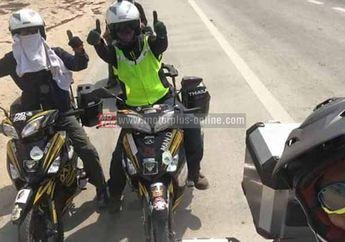 Rider Naik Haji Menempuh Jarak 13.500 km