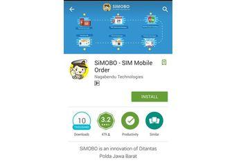 SiMobo Aplikasi SIM Online Untuk Android Sudah Didownload 10 Ribu Orang
