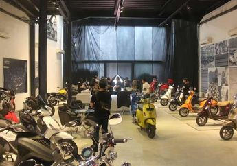 Piaggio Buka Piaggio Group Concept Store Global Pertama di Indonesia