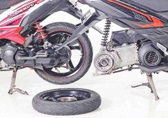 Tukar Pakai Pelek Matic Yamaha 125 cc