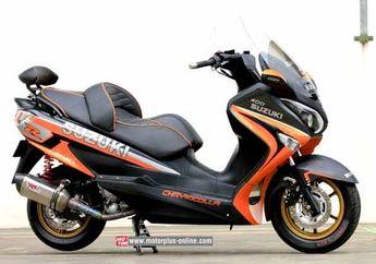 Siapa Bilang Suzuki Burgman 200 Enggak Bisa Dimodifikasi Jadi Sporty?