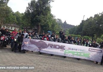 Kawasaki With Pride Jakarta-Bali, Sukses Etape 2 & Zero Accident