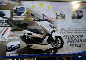 Aksesoris Yamaha NMax Impor Dari Eropa
