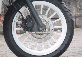 Tips Coak Sepatbor Untuk Matic Yamaha Yang Pasang Pelek Lebar