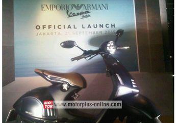 Vespa 946 Emporio Armani Resmi Dijual Di Indonesia
