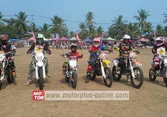 Viar 7 Explorer Ada Di Banten Lautan Trail Yang Diikuti 1.000 Rider