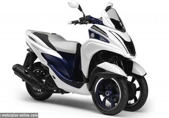 Yamaha Tricity dan Yamaha MT-07, Jagoan Yamaha Untuk Pasar Eropa