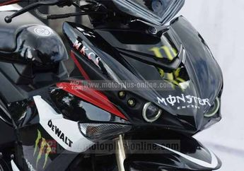 Modifikasi Cat Yamaha Jupiter MX King Ala Yamaha X-1