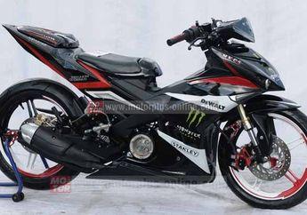 Modifikasi Yamaha Jupiter MX King Ala Yamaha X-1