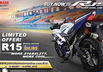 Garansi Resmi Sok Belakang Yamaha R15 Ohlins Special Edition Selama 3 Tahun