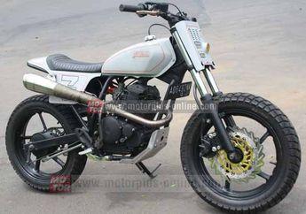Modifikasi Yamaha Scorpio Flat Track