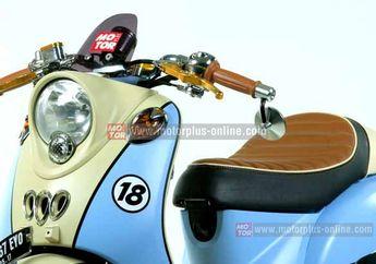 Cat Doff Bikin Motor Modif Klasik Keliatan Keren