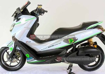 Modifikasi Yamaha NMAX 155 Tim Balap Trick Star