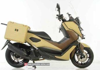 Yamaha NMAX Modifikasi Untuk Penjelajah Gurun