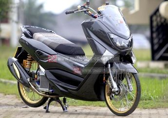 Modifikasi Yamaha NMAX Full Carbon