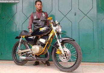 Yamaha RX-Special Kena Wabah Cafe Racer