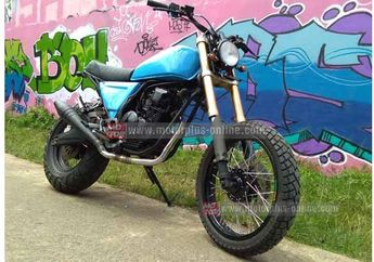 Modifikasi Yamaha Scorpio Dirt Bike