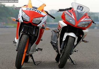 Hasil Tes Dyno All New Honda CBR 150R Vs Yamaha YZF-R15