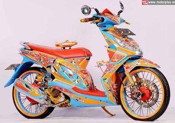 Modifikasi Honda BeAT 2012 Jakarta, Kartunisasi Poser