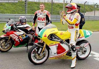 Stefan Bradl Jajal Motor Ayahnya Dalam Rangka Promosi