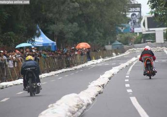 Drag Bike Solo, Balap Trek Lurus Yang Diwarnai Kampanye Terselubung ?