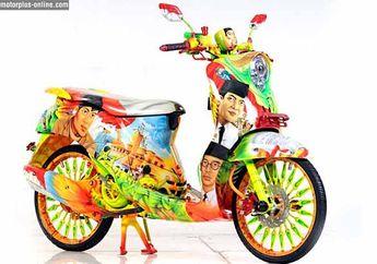 Modifikasi Yamaha Fino 2013 Jakarta, Ingatkan Kembali Tokoh Sejarah Bangsa Indonesia