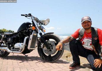 Modifikasi Honda Shadow 750 cc 1995 Bali, Muscle Brat Style Cocok Untuk Karakter Jalan di Bali