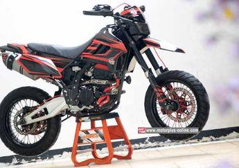Nih Dia Gaya Kawasaki D Tracker 250 Supermoto Lincah Di Jalan Raya